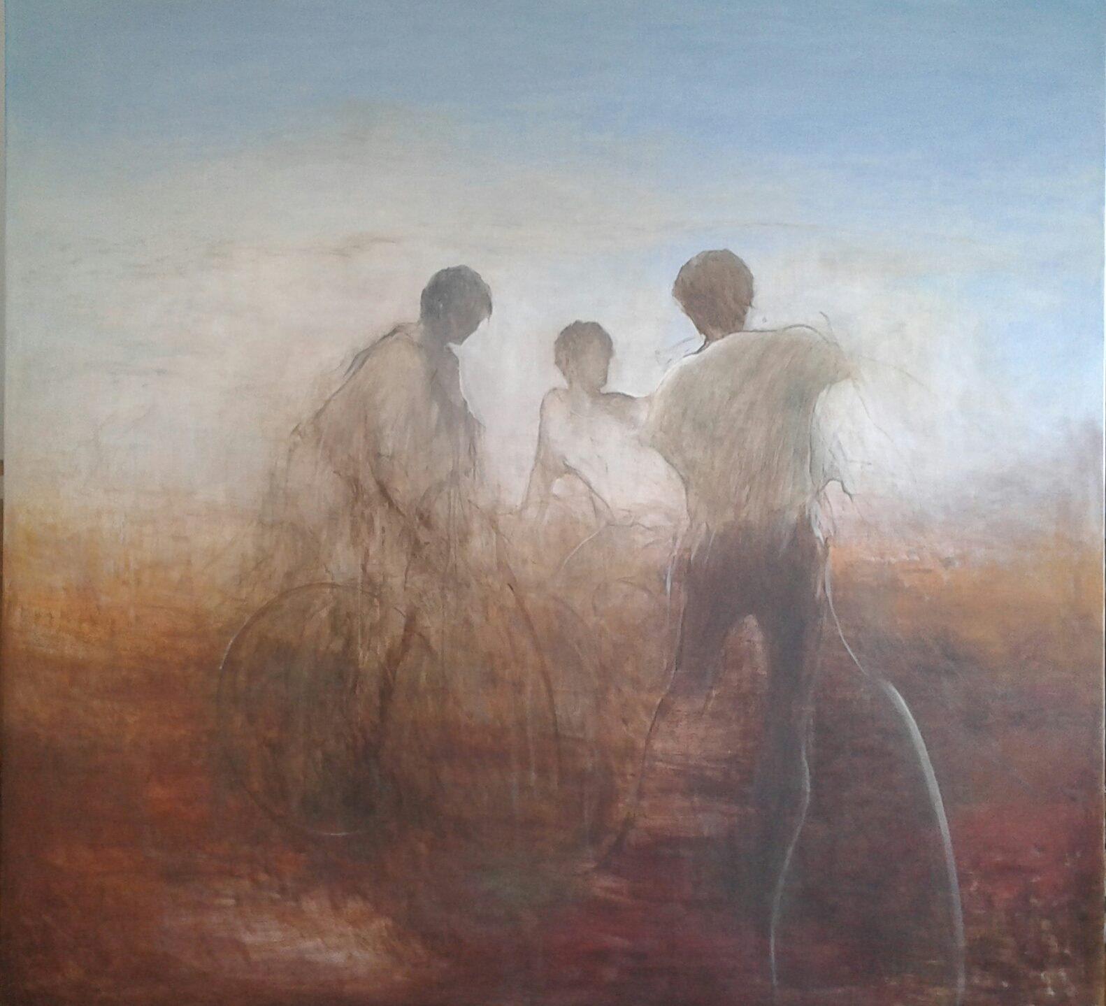 Tuval, yağlıboya 187 x 200 cm