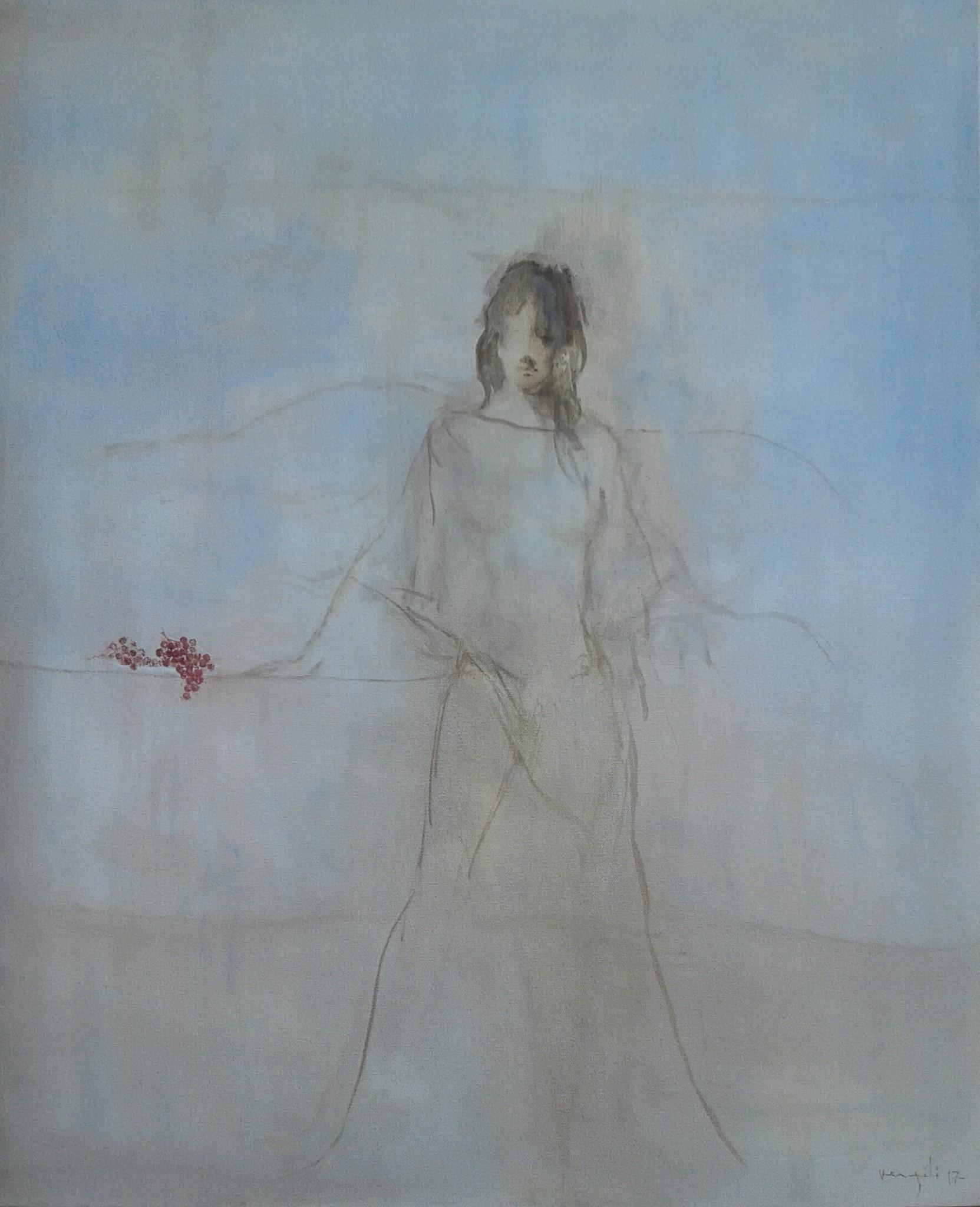 Tuval, yağlıboya 73 x 60 cm