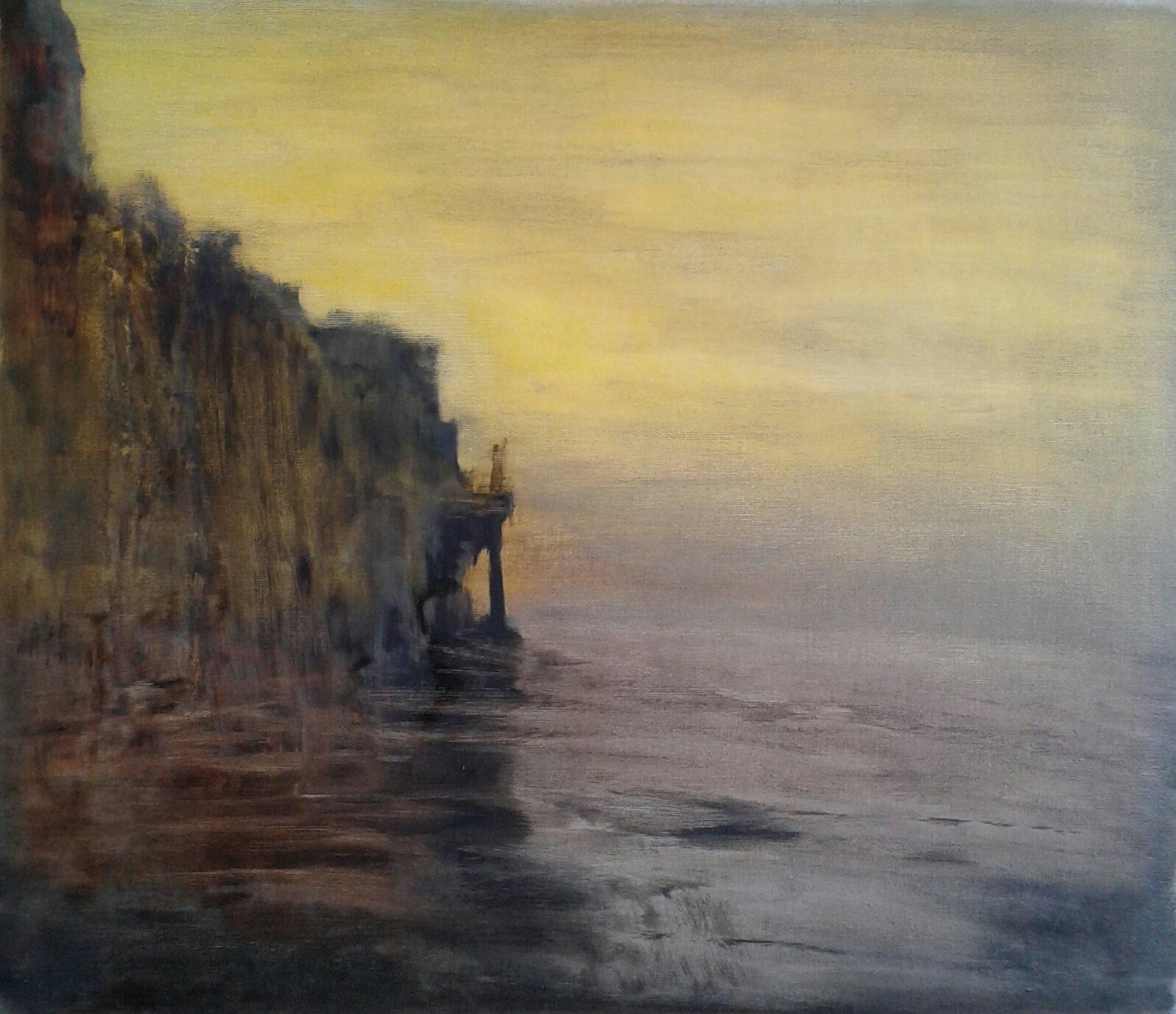Tuval, yağlıboya 50 x 57 cm