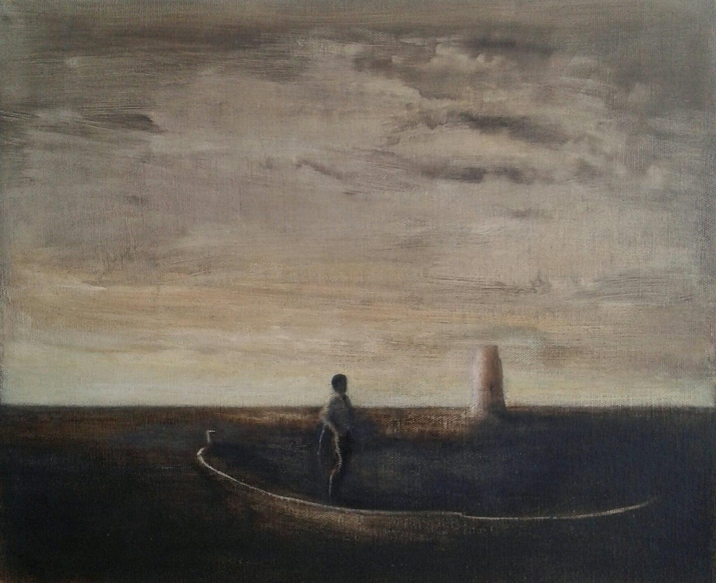 Tuval, yağlıboya 31 x 38 cm