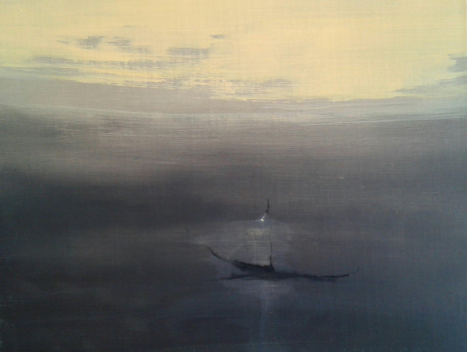 Tuval, yağlıboya 27 x 35 cm