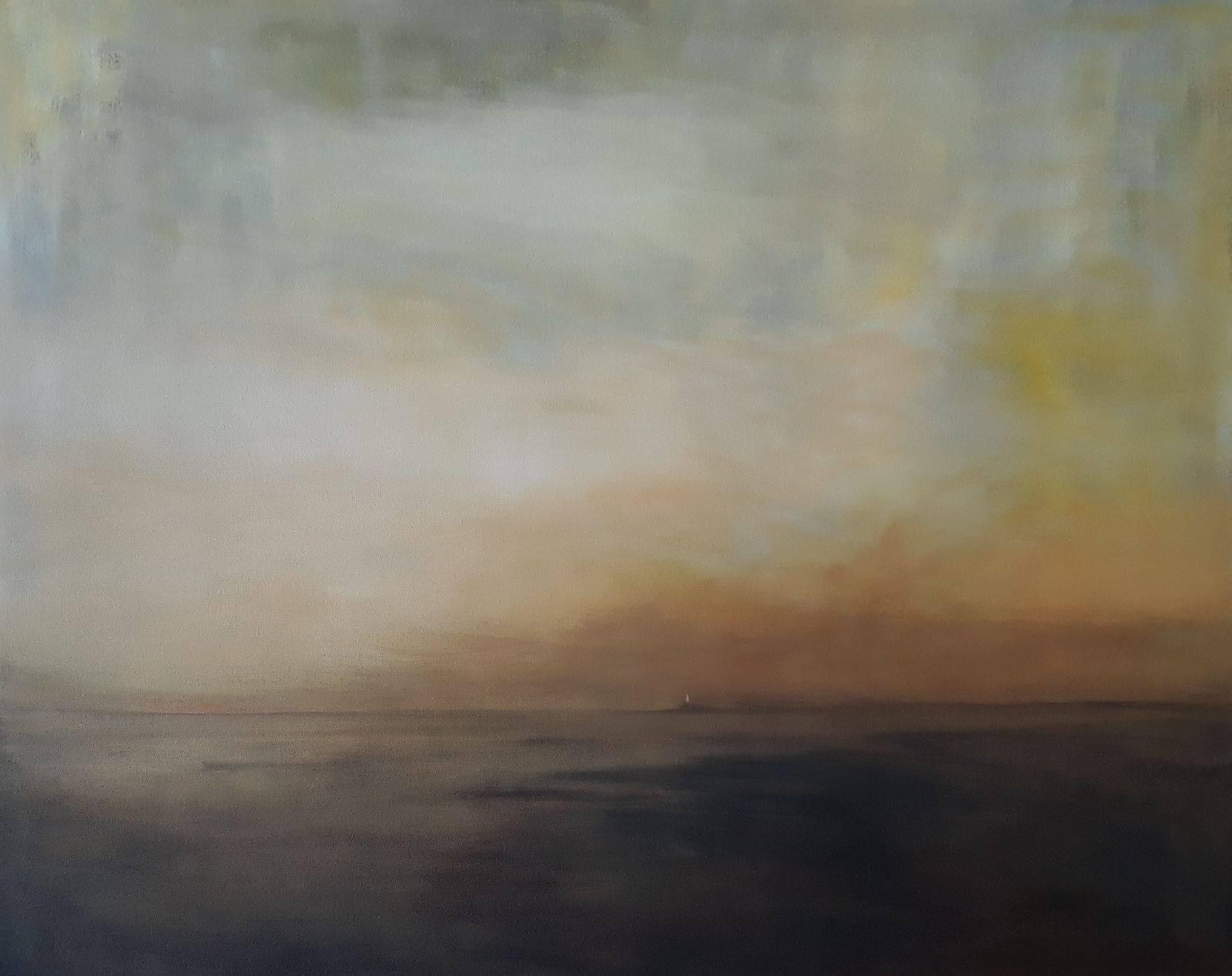 Tuval, yağlıboya 65 x 81 cm